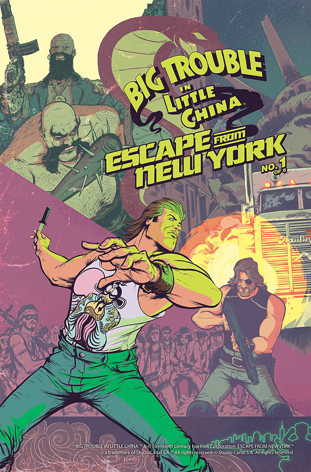 img - Review - Big Trouble in Little China / Escape From New York #1