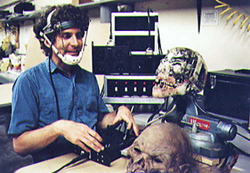 BrockWinkless Puppeteering The Crypt Keeper - Tales From the Crypt: A Look Back