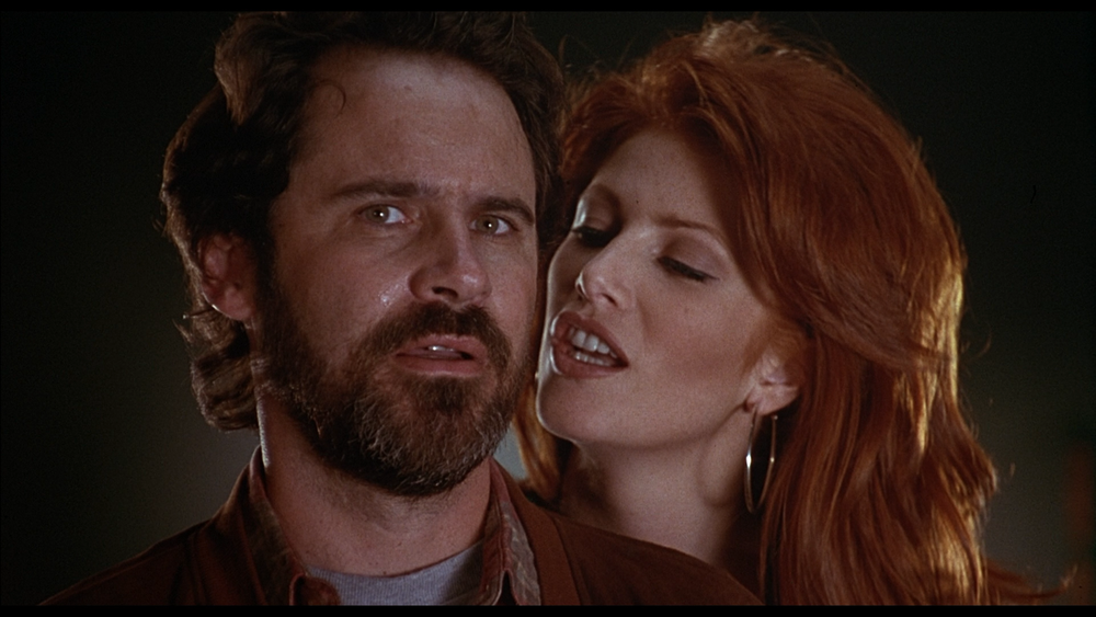 """This shot typifies the movie. Angie Everheart delivers some flat-as-a-board line in her best """"sexy"""" voice and Dennis Miller replies with something... very Dennis Miller. There is a badass vampire-destruction sequence (NSFW - TITS) in the middle and the FX are better than okay, but audiences didn't care for this one."""