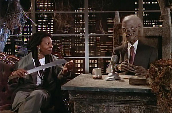 tales from the crypt season 3 crypt keeper and whoopi goldberg - Tales From the Crypt: A Look Back