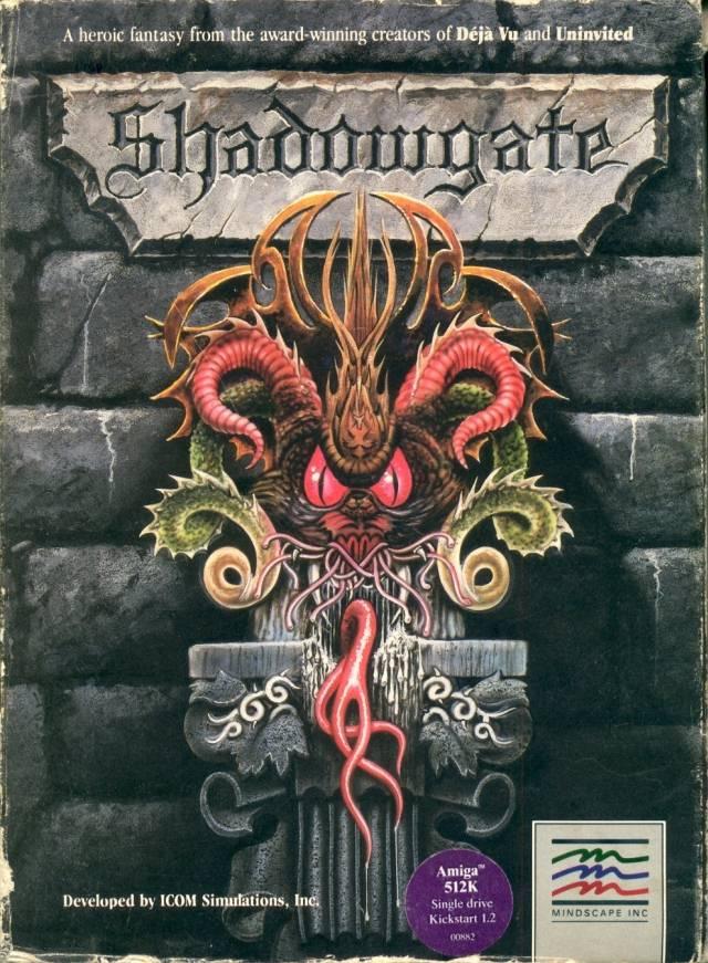Shadowgate Front - Shadowgate (ICOM Simulations, 1987)