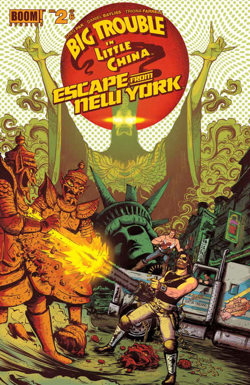 img - Review - Big Trouble in Little China / Escape From New York #2