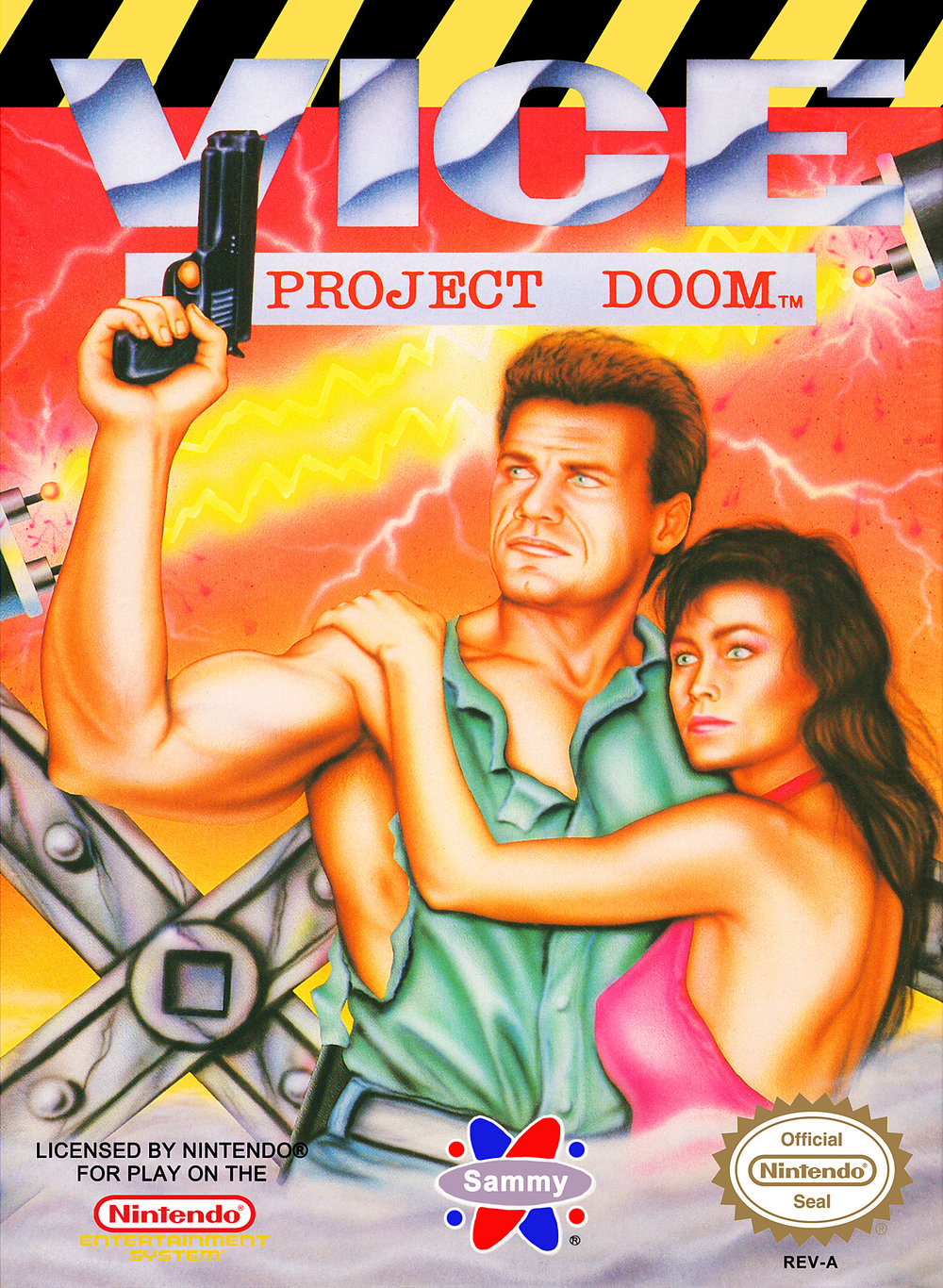 2362345 nes viceprojectdoom - Vice: Project Doom (American Sammy, 1991)
