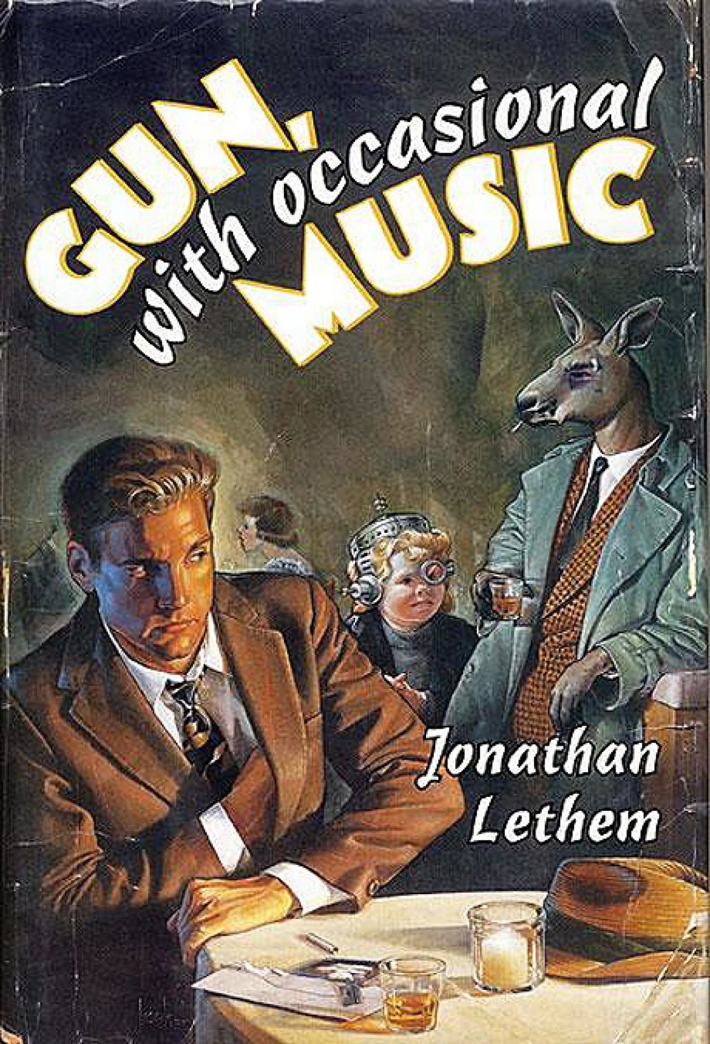 img - Gun, with Occasional Music by Jonathan Lethem (1994)