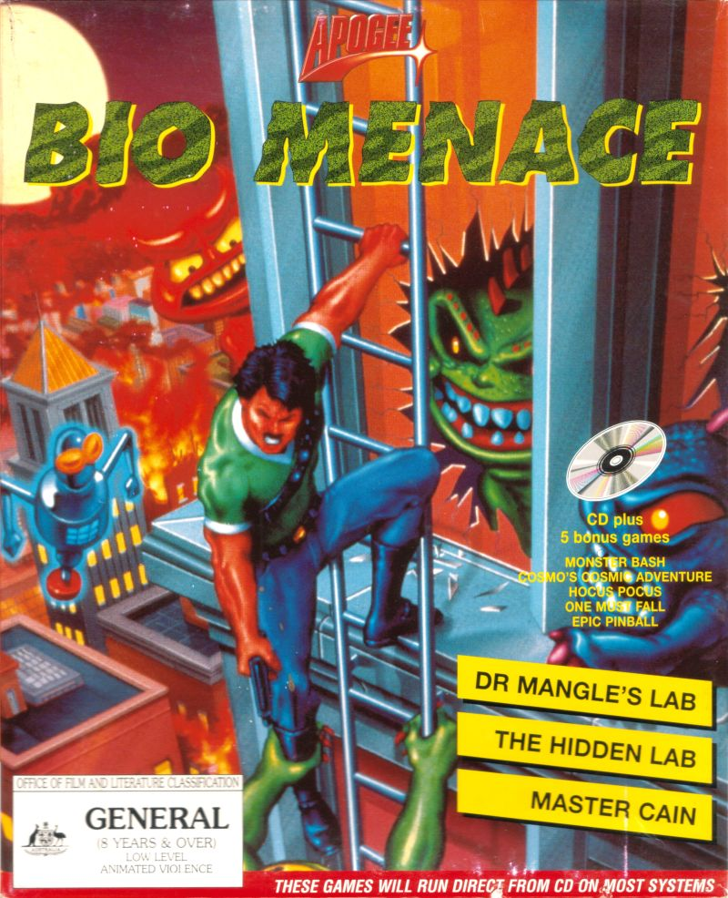 img - Bio Menace (Apogee, 1993)