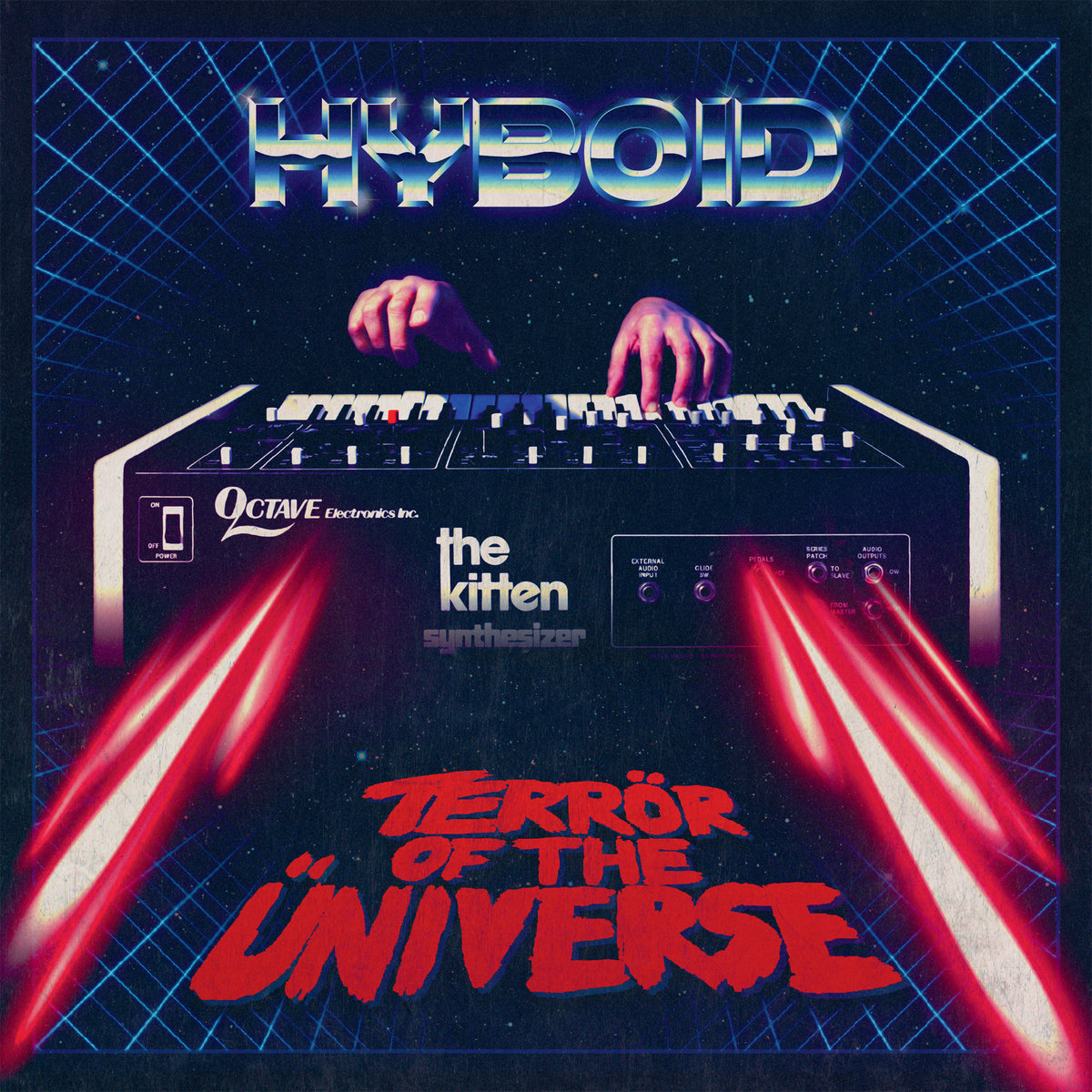 Hyboid+ +Terr%C3%B6r+of+the+%C3%9Cniverse - Top Ten Retrowave Albums of 2016