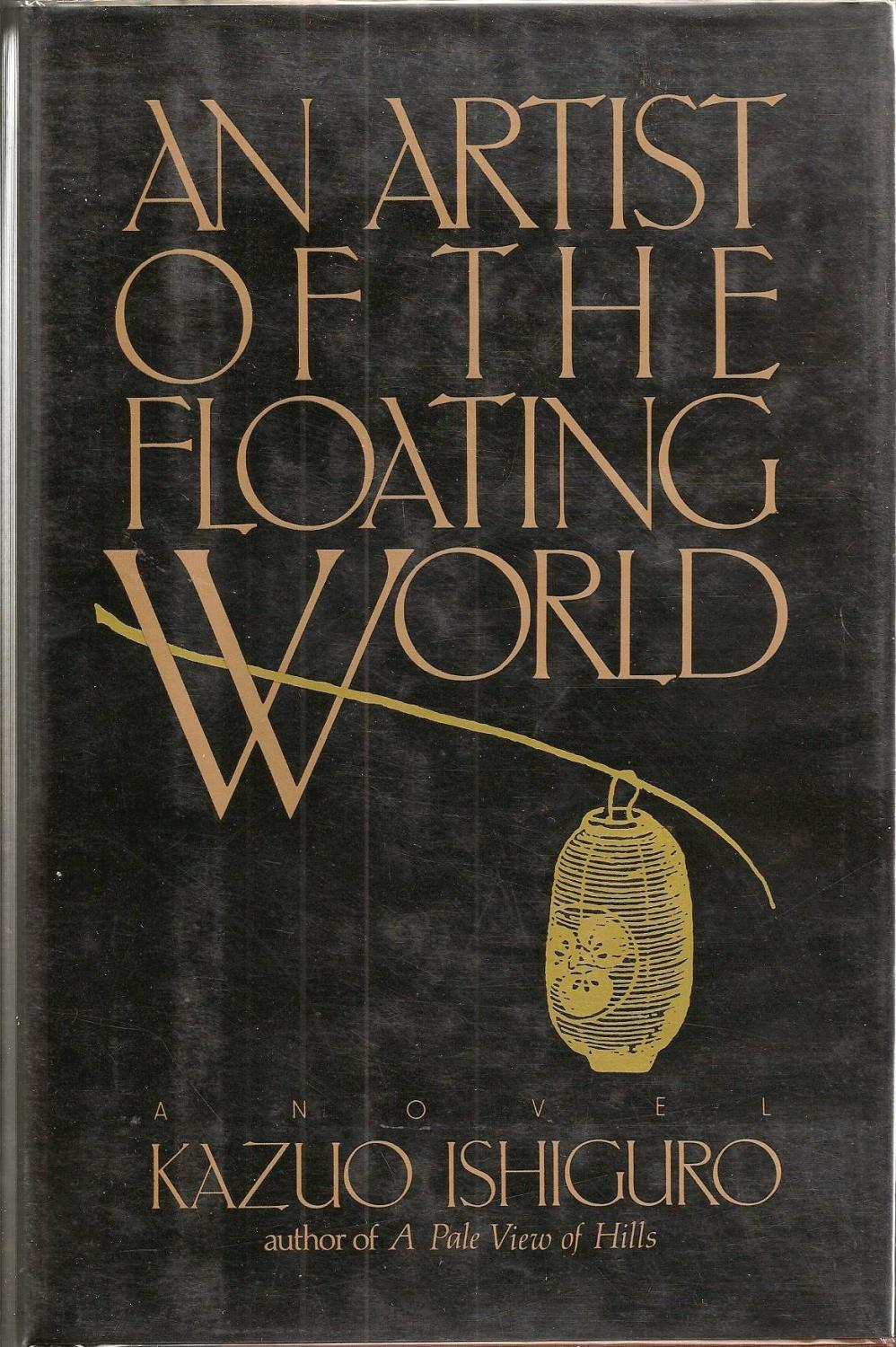img - An Artist of the Floating World by Kazuo Ishiguro (1986)