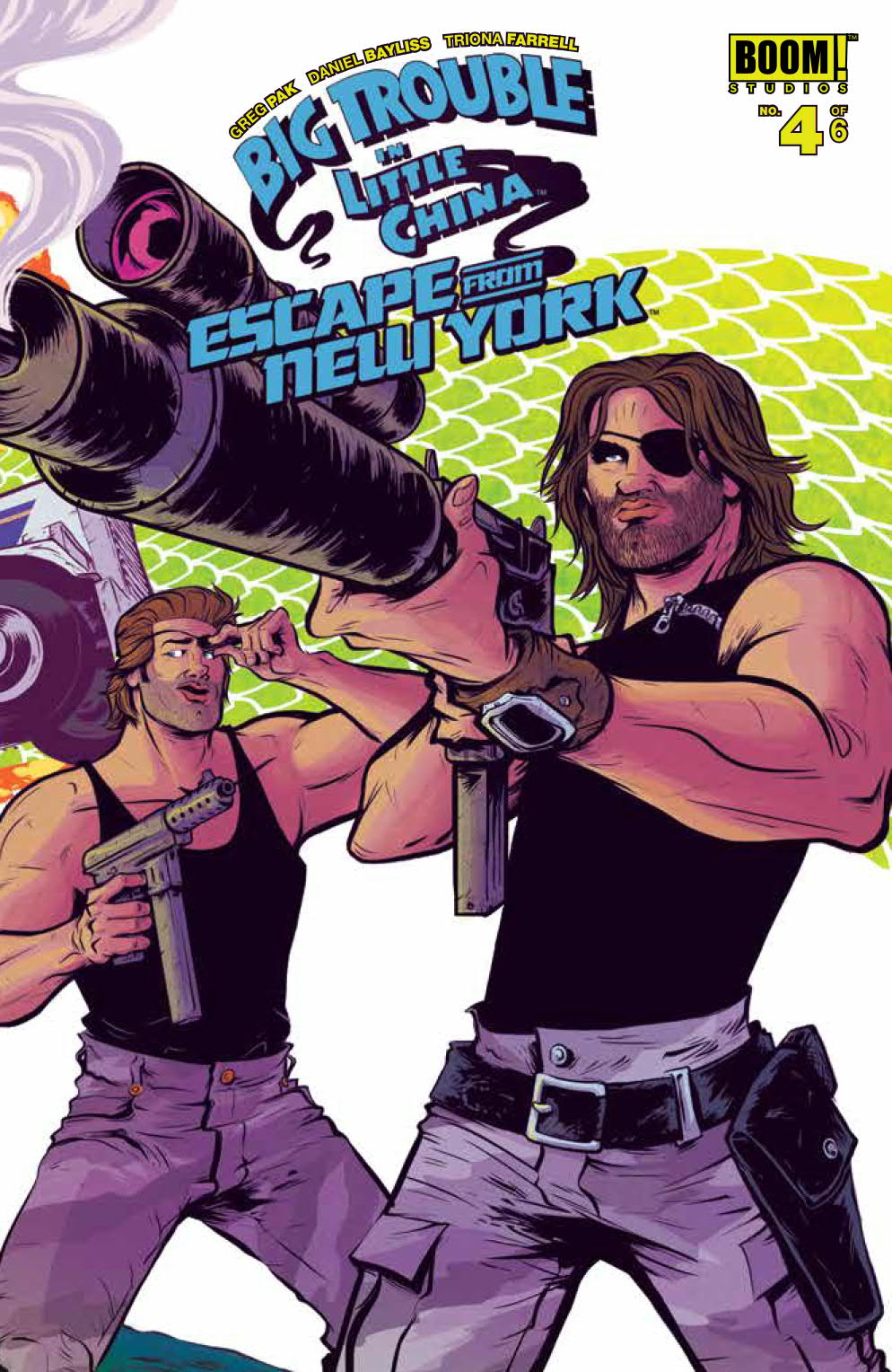 img - Big Trouble in Little China / Escape From New York #4
