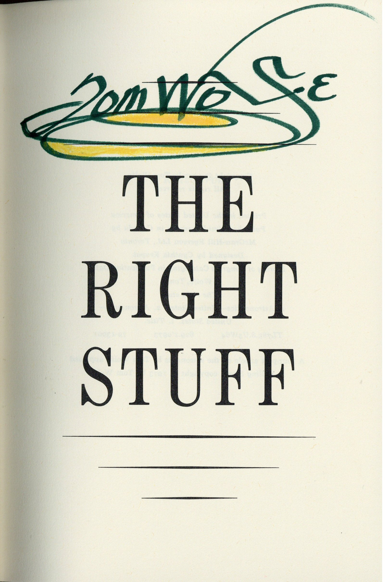The+Right+Stuff+by+Tom+Wolfe+%281979%29 - The Right Stuff by Tom Wolfe (1979)