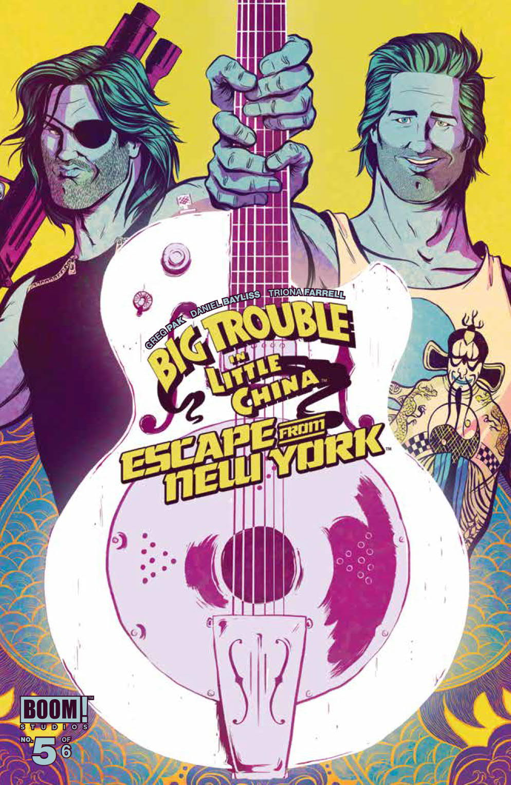 img - Big Trouble in Little China / Escape From New York #5 Review