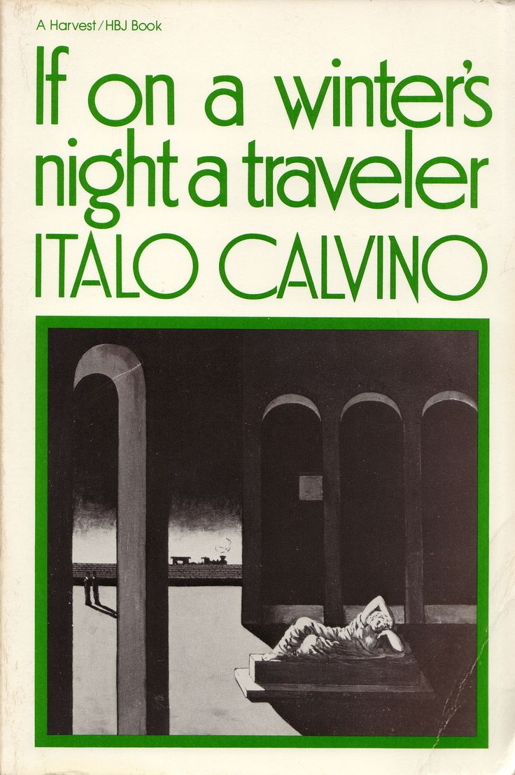 img - If on a winter's night a traveler by Italo Calvino (1979, Tr. 1981)