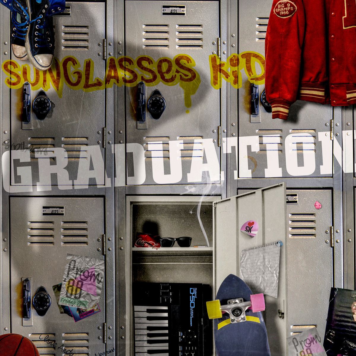 Sunglasses+Kid+ +Graduation+%28Album+Cover%29 - Sunglasses Kid - Graduation