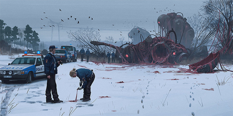 Art by Simon Stålenhag
