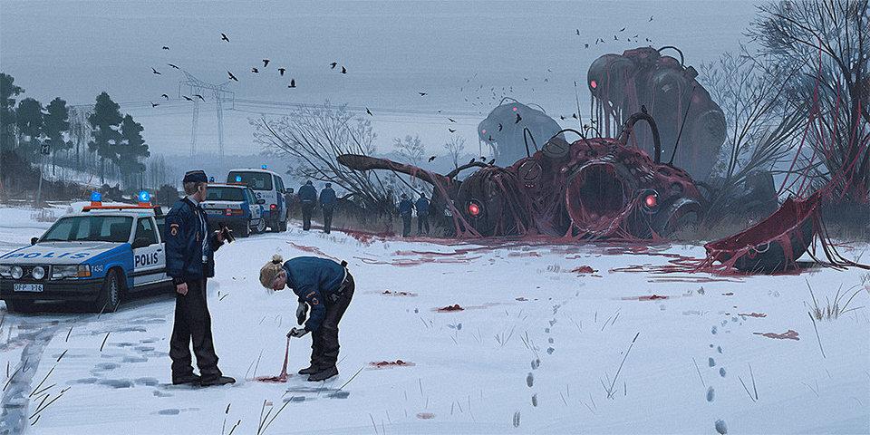 Art by Simon Stålenhag
