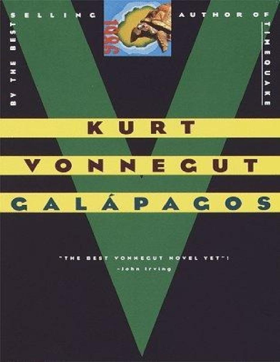 Gal%C3%A1pagos+by+Kurt+Vonnegut+%28Book+Cover%29 - Galápagos by Kurt Vonnegut (1985)