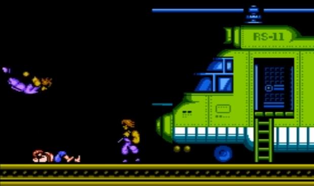 ninjas - Double Dragon II: the Revenge [NES] (Technos Japan, 1989)