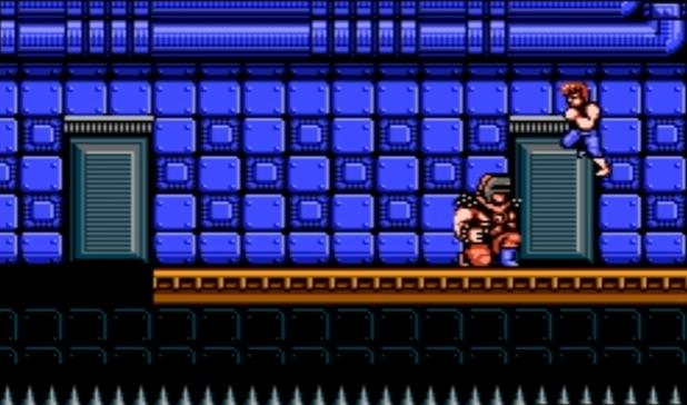 boss - Double Dragon II: the Revenge [NES] (Technos Japan, 1989)