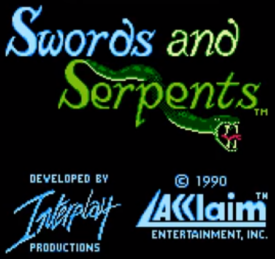 img - Swords and Serpents (Interplay, 1990)