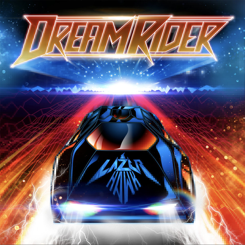 Lazerhawk - Dreamrider (Album Cover)