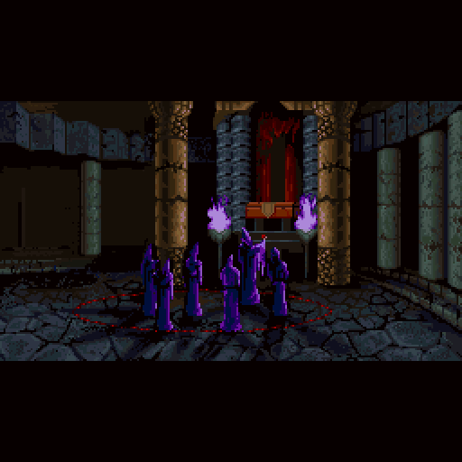 Akumajou Dracula %28X68000%29 02 - Examination: the Sharp X68000