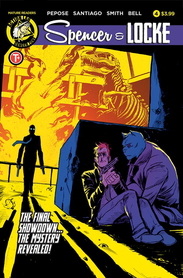 Spencer & Locke #4 comes out July 19th, 2017.