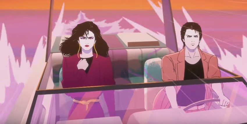 Moonbeam+City - Patrick Nagel (Feature)