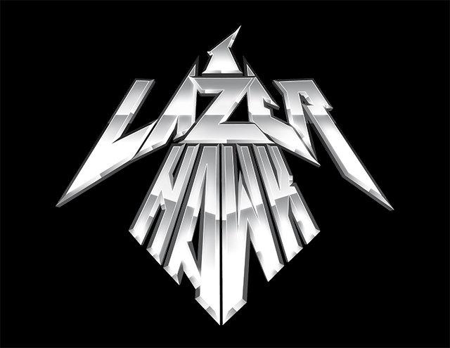 Lazerhawk Logo Chrome Font