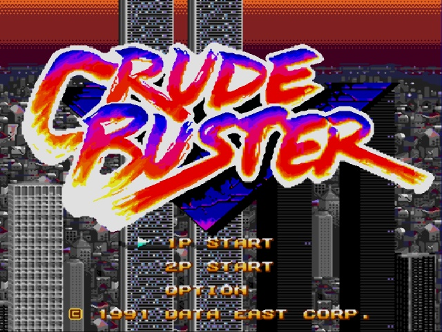 img - Crude Buster/Two Crude Dudes (Data East, 1991)