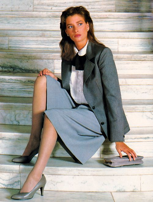 img - OFFICE SUITE IN 80S FASHION. YUPPIE — A LUXURIOUS LIFESTYLE