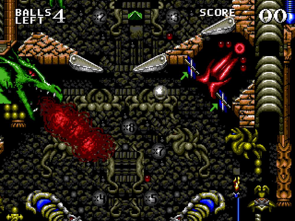 dragons revenge 07 - Grab Bag: MD/Genesis Pinball!!!