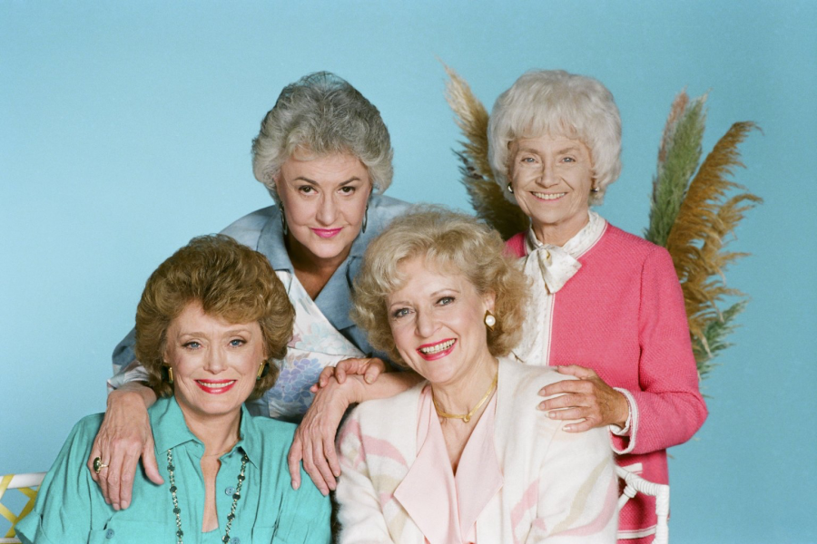 o THE GOLDEN GIRLS - FLUFFY GARMENTS OF THE 80's