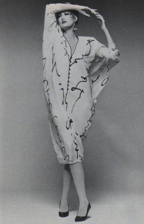 Hanae+Mori%2C+American+Vogue%2C+September+1984 - FLUFFY GARMENTS OF THE 80's