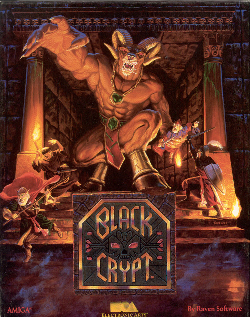 1992's Black Crypt, Raven's first game. I've never played it, but this is making me want to. It looks metal as fuck, just like Heretic and Hexen. Nothing wrong with sticking to a formula.