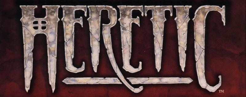 logo - Heretic (Raven Software, 1994)