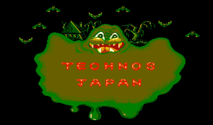 They made plenty of stuff for a primarily domestic market in the 1980s. This charming booger monster is from Bogey Manor (1985), a sort of puzzle-action platformer where you smash orbs in a haunted house, apparently to un-haunt it. Here's a YouTube video.