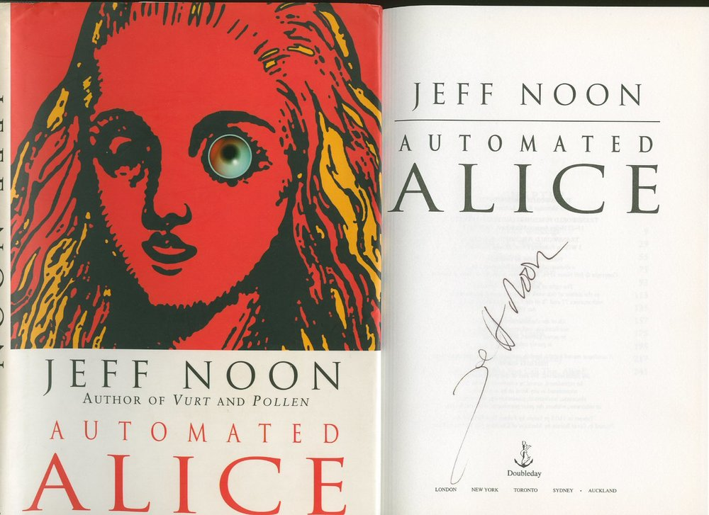 img - Automated Alice by Jeff Noon (1996)