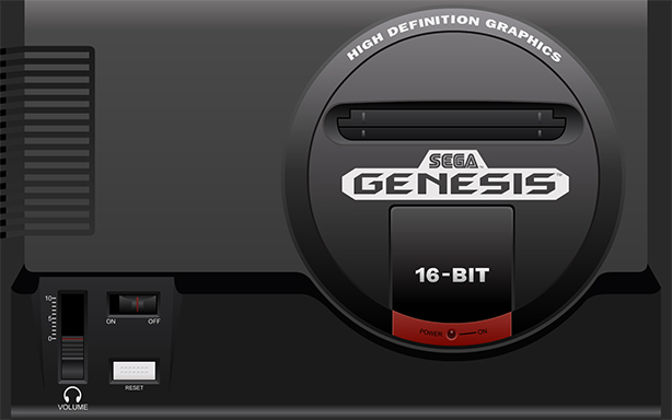 The Sega Genesis. Model citizen; zero discipline.