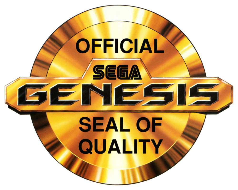 sega genesis seal of quality logo by ringostarr39 d90g4gz - Grab Bag: Even More Genesis Games!