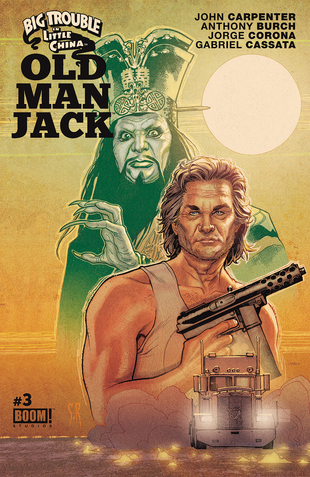 BTLC OMJ 003 A Main - Big Trouble in Little China: Old Man Jack #3 - Review