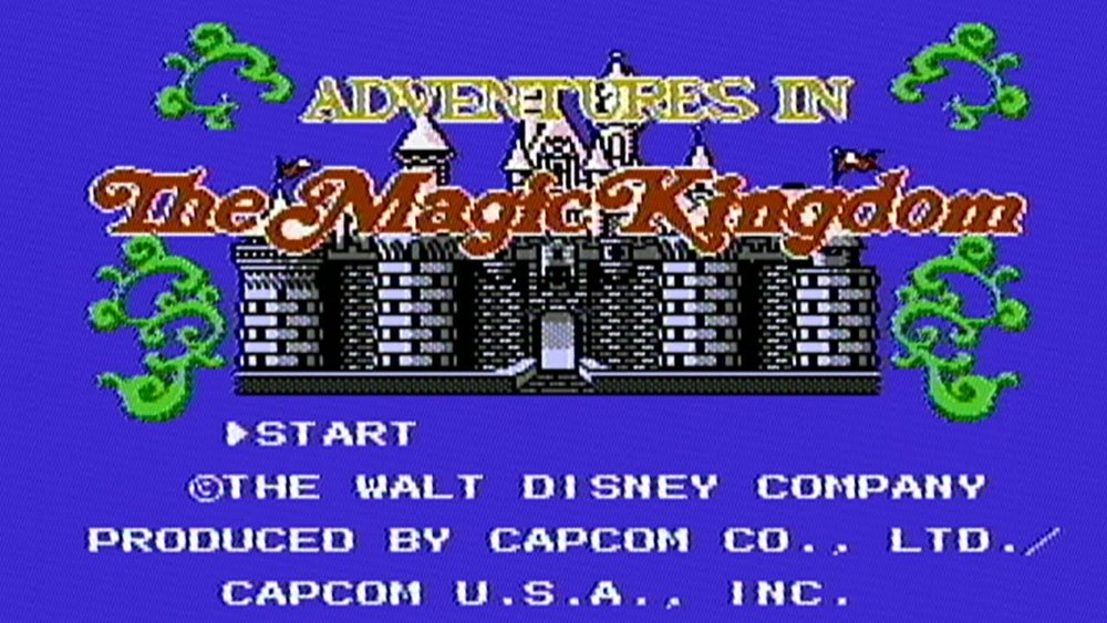 m king title - Grab Bag: Capcom's Disney on the NES