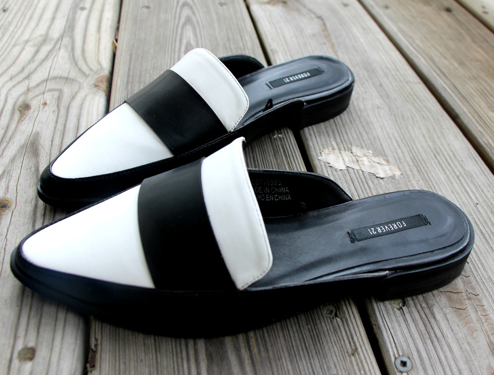 forever 21 monochrome mule loafers.jpg