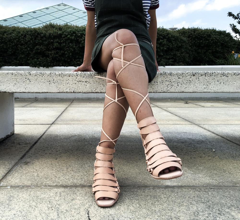 Jeffrey Campbell Zaferia Gladiator Sandals