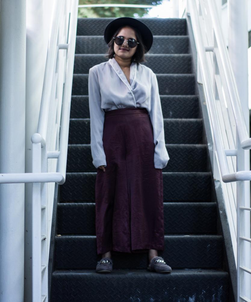 Pajama Style in Satin