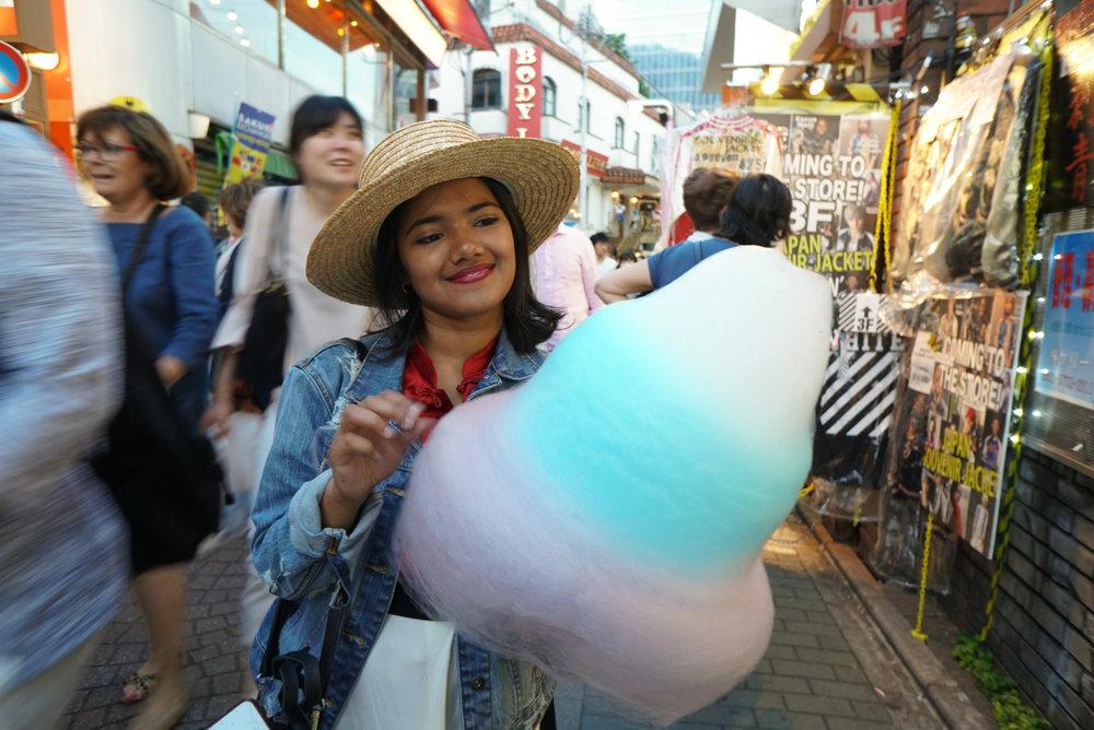 Harajuku Cotton Candy