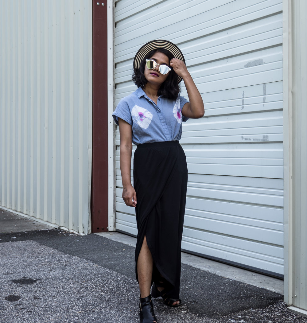 Zen Petite Maxi Skirt