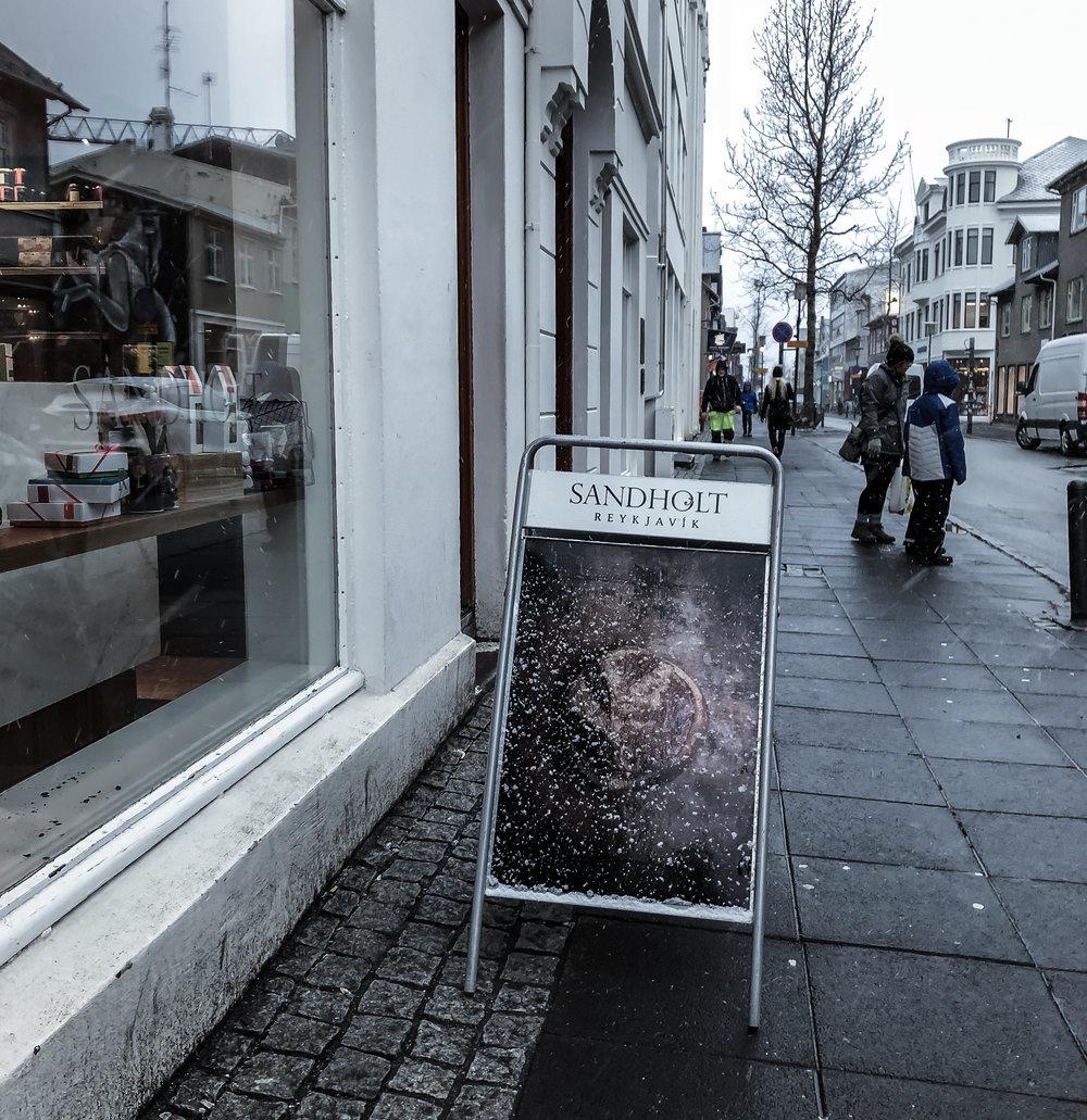 Sandholt Bakery in Reykjavik