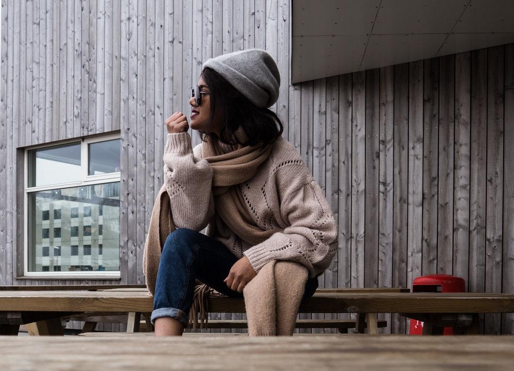 Wool Sweater in Styykisholmer