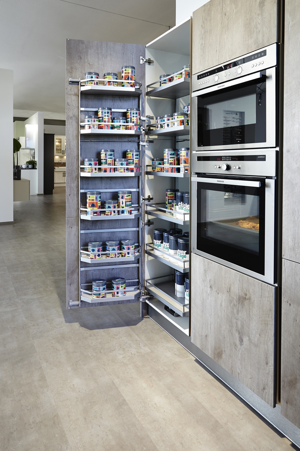 Clever Design Features That Maximize Your Kitchen Storage: Clever Storage By Kesseböhmer