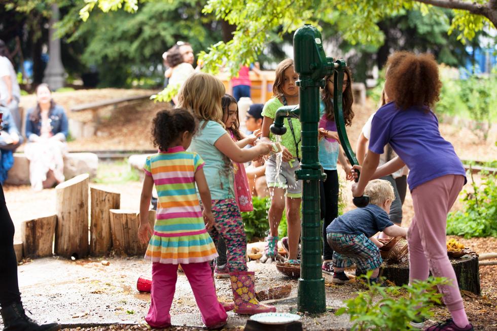 McKinley Park Community Play Garden