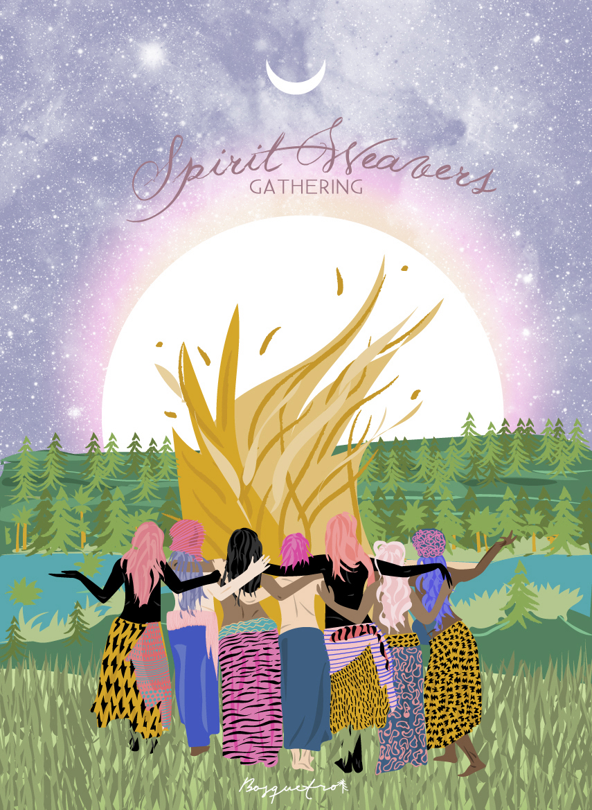 SPIRIT WEAVERS GATHERING   Annual women's gathering to share skills in remembrance of the beauty path and an honoring of ancestors.